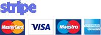 Pagos seguros con Stripe y Paypal