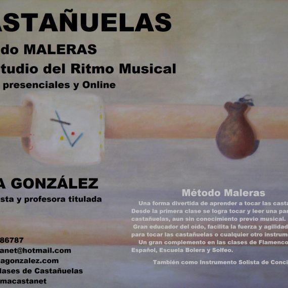Clases de Castañuelas presenciales en Madrid – Barcelona y Online