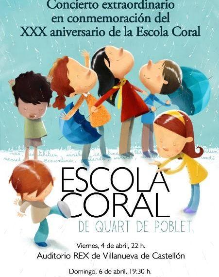 30 Aniversario de la Escola Coral Veus Juntes de Quart de Poblet