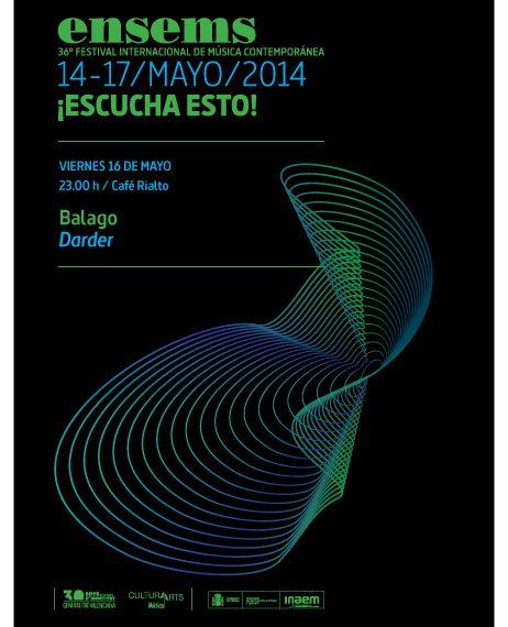 36ª Edición del Festival Ensems.- Balago