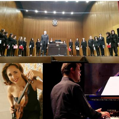 COR DE DONES A CAU D'ORELLA.Concert Dia de la Dona