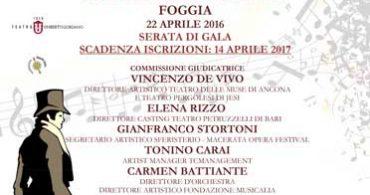 """2nd INTERNATIONAL LYRIC CONTEST """"Andrea Chénier"""""""