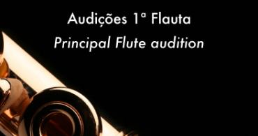 Audiciones Flauta en la Orquestra Clássica da Madeira