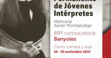 Concurso Permanente de Jóvenes Intérpretes – Canto, Arpa y Música de Cámara