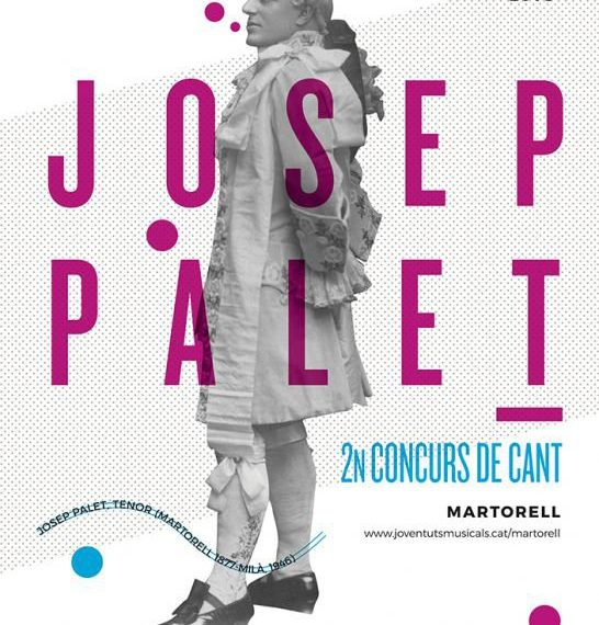 II Concurs de Cant Josep Palet de Martorell