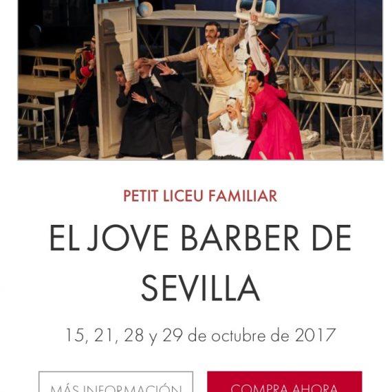 El Jove Barber. Petit Liceu ( Gran Teatre del Liceu)