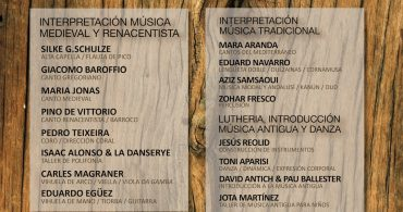 VII Academia Internacional de Música Medieval y Renacentista Early Music Morella