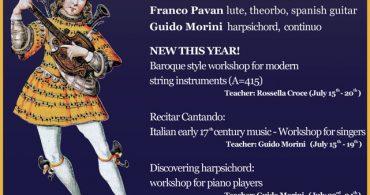 IV Curso Internacional de Música Antigua Magliano in Toscana 2018