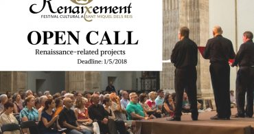 OPEN CALL Festival Renaixement