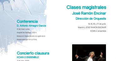 """Masterclasses de dirección de Orquesta. Festival Internacional de Música y Danza """"Ciudad de Úbeda"""""""