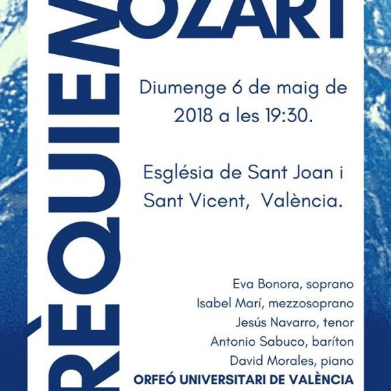 Requiem en Re menor de W.A. Mozart