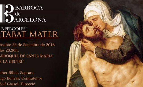 """Stabat Mater de G.B. Pergolesi – Ciclo """"Músiques del retaule"""""""