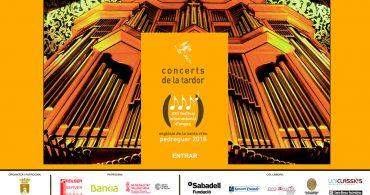 La lírica del contratenor. XXII festival de órgano 2018 Pedreguer
