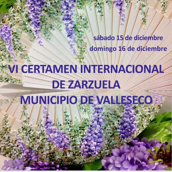 VI Certamen Internacional de Zarzuela de Valleseco (Gran Canaria)