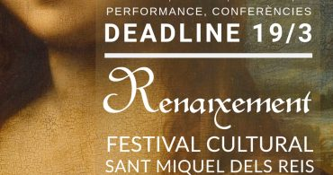 Open Call – Festival Renaixement 2019