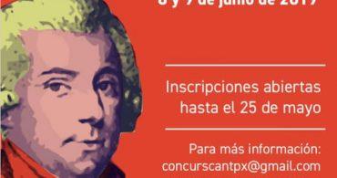 """III Concurso Internacional de Canto """"Martín y Soler"""""""