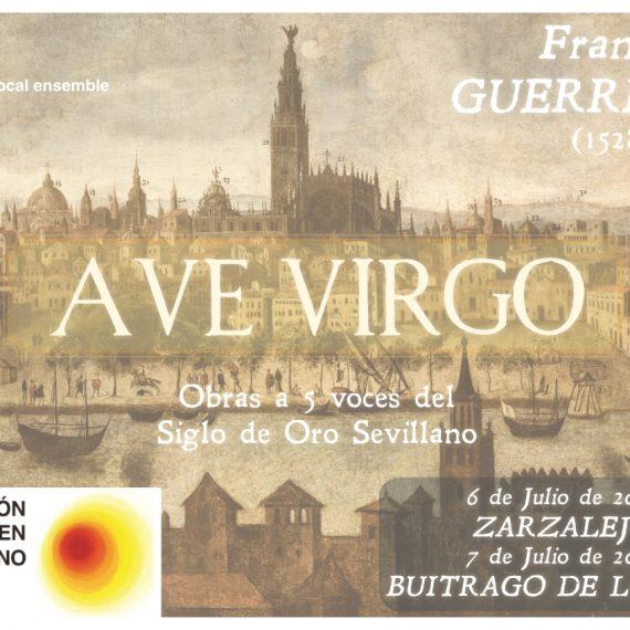 Ave Virgo – Francisco Guerrero (Clásicos en Verano 2019 – Zarzalejo)
