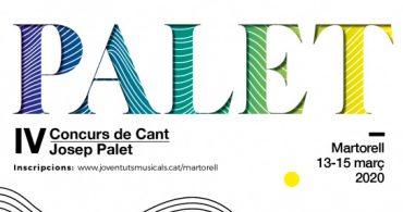 IV Concurso de Canto Josep Palet de Martorell