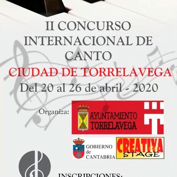 II Concurso Internacional de Canto Ciudad de Torrelavega
