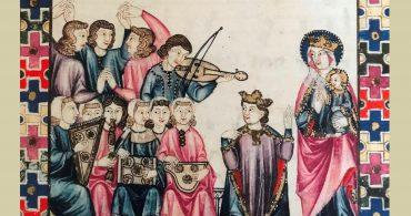 """Ensemble Alfonsí – Jota Martínez """"Instrumentos para loar a Santa María""""."""