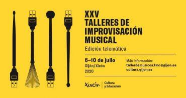 XXV Talleres de improvisación musical – Edición Telemática