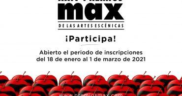 Abierto el plazo de inscripción para los XXIV Premios Max