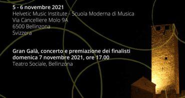 III Concurso Internacional de Canto Lírico Maria Amadini (Suiza)